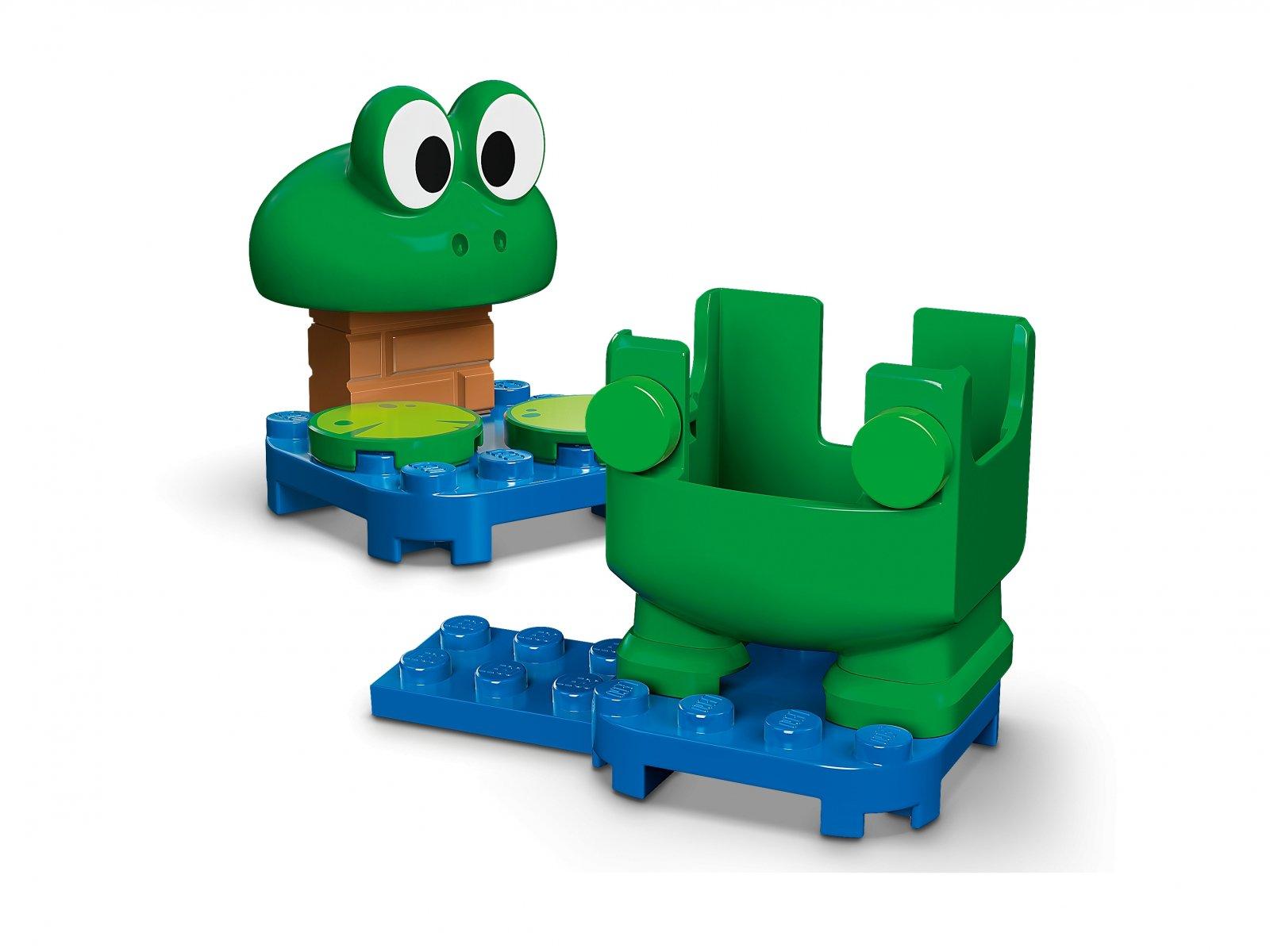 LEGO Super Mario 71392 Mario żaba — ulepszenie