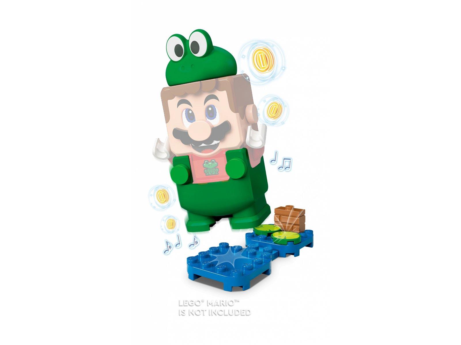 LEGO 71392 Super Mario Mario żaba — ulepszenie