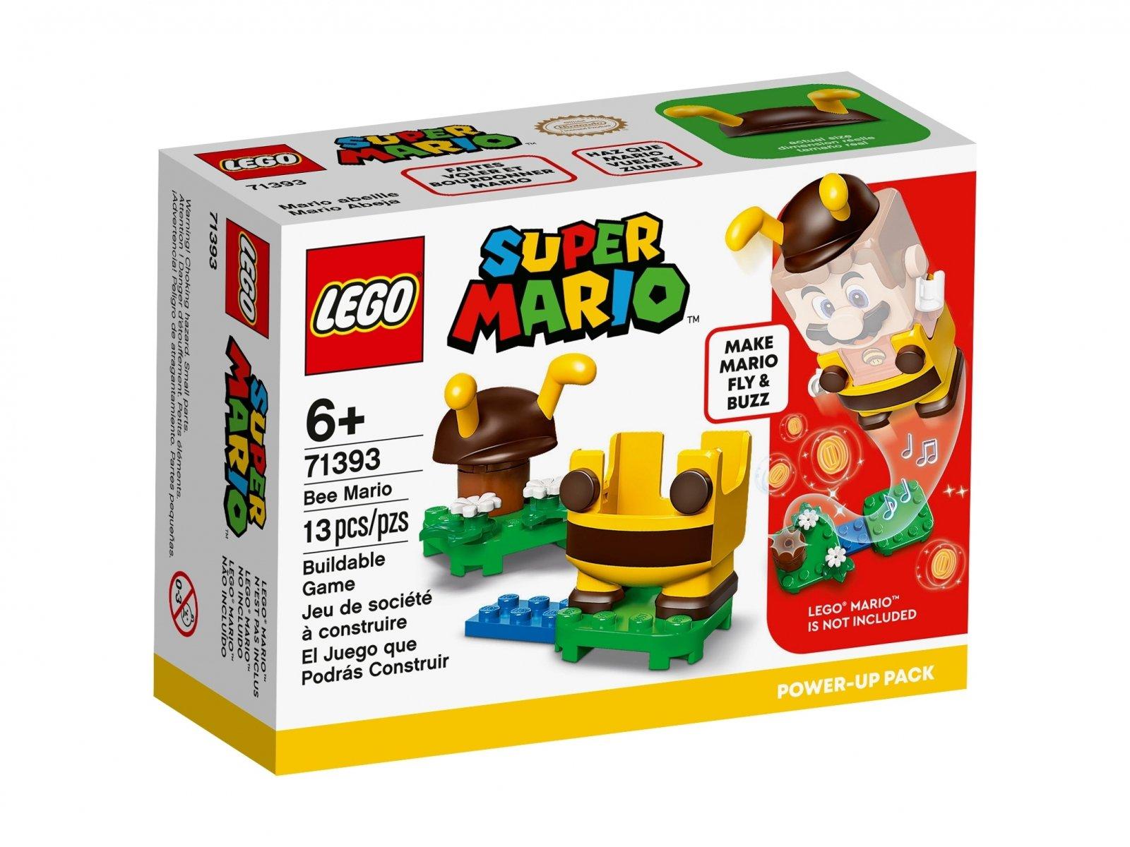 LEGO 71393 Mario pszczoła — ulepszenie