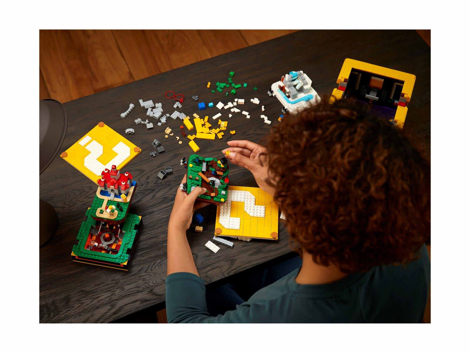 LEGO 71395 Super Mario Pytajnikowy blok Super Mario 64™