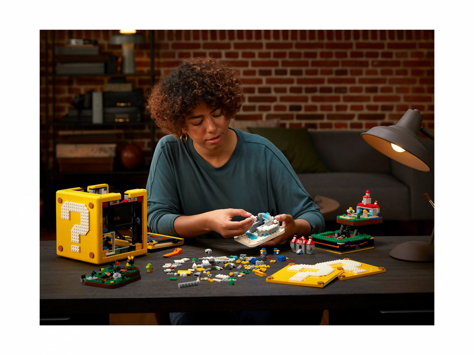 LEGO Super Mario Pytajnikowy blok Super Mario 64™ 71395