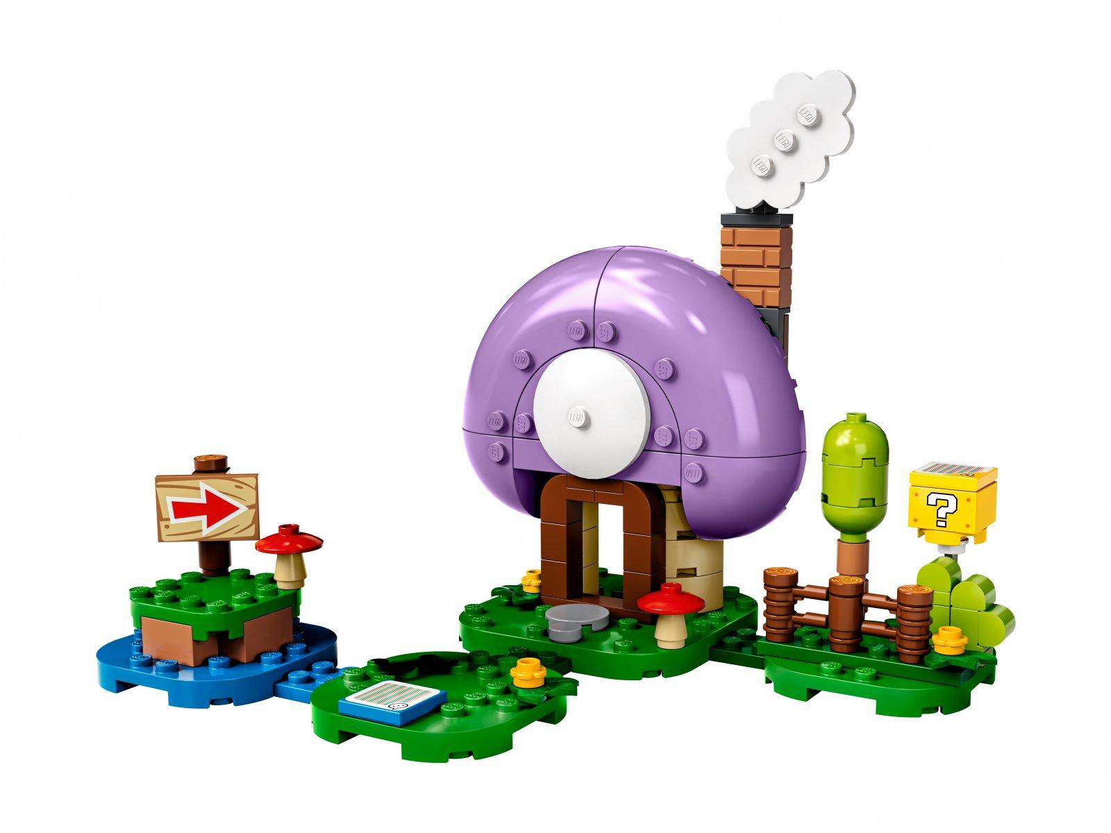 LEGO Super Mario™ 77907 Rozbudowa kryjówki Toada - zestaw rozszerzający