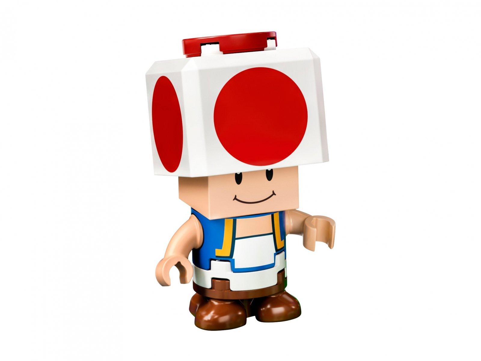 LEGO Super Mario Rozbudowa kryjówki Toada - zestaw rozszerzający 77907