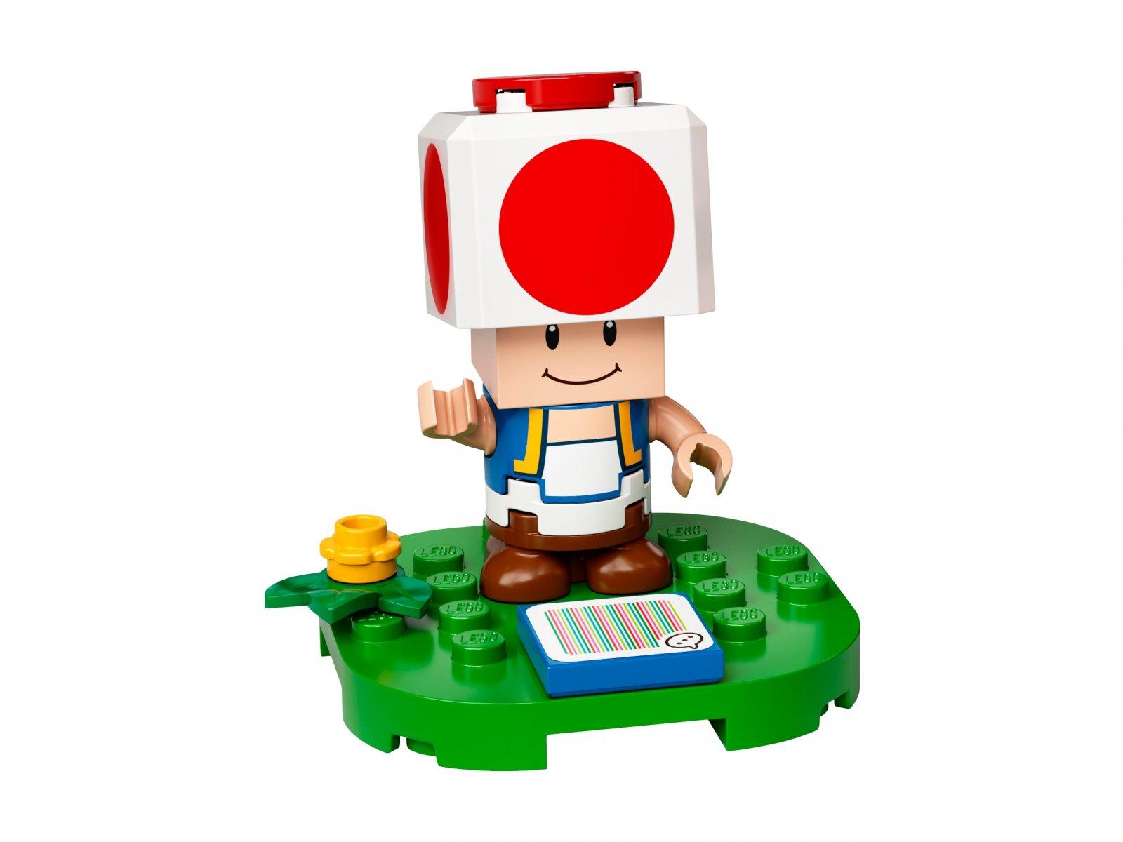 LEGO 77907 Super Mario™ Rozbudowa kryjówki Toada - zestaw rozszerzający