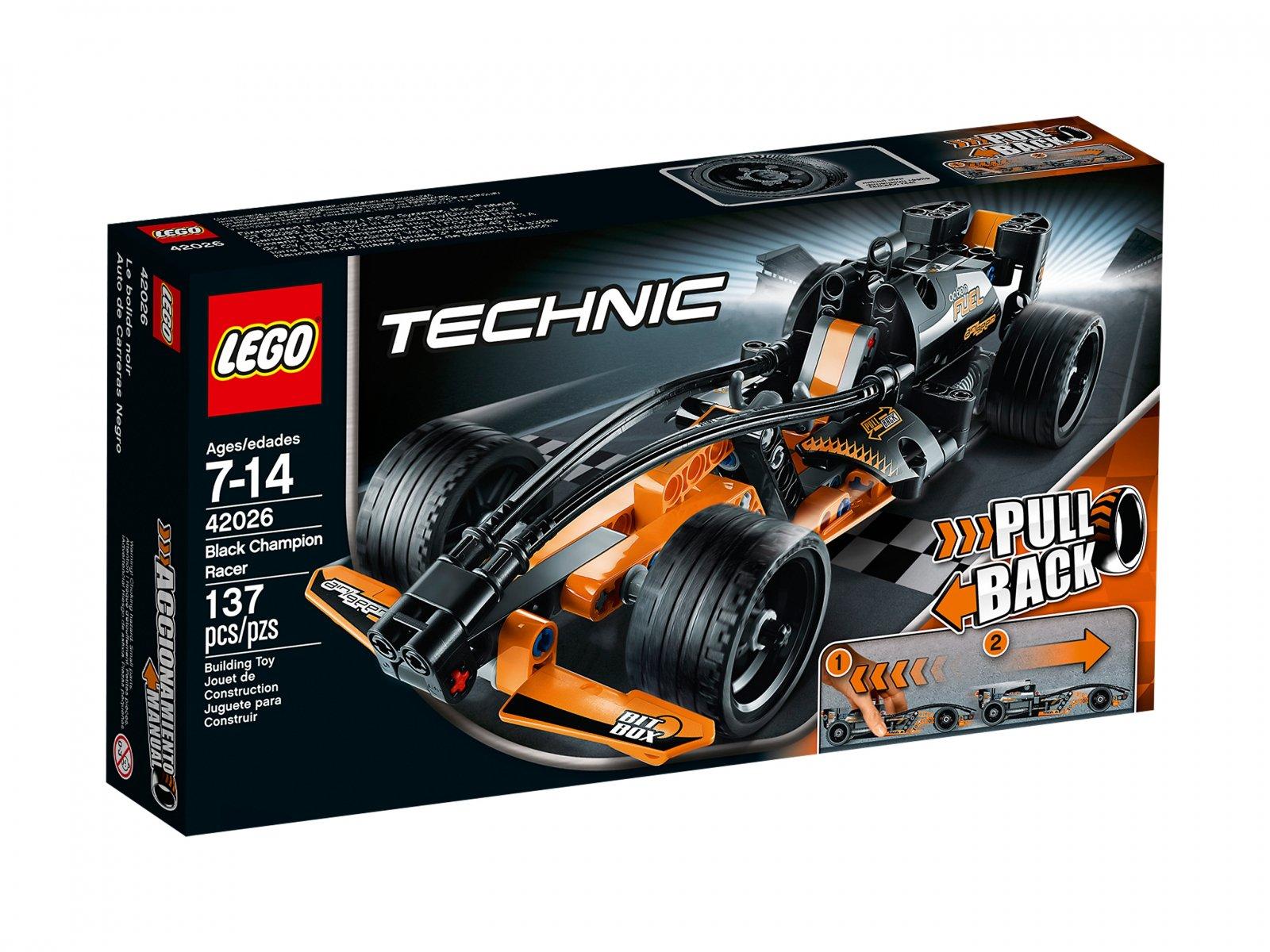 LEGO Technic Czarny zdobywca dróg