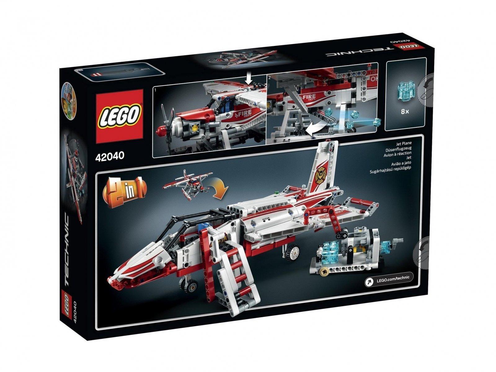LEGO 42040 Samolot strażacki