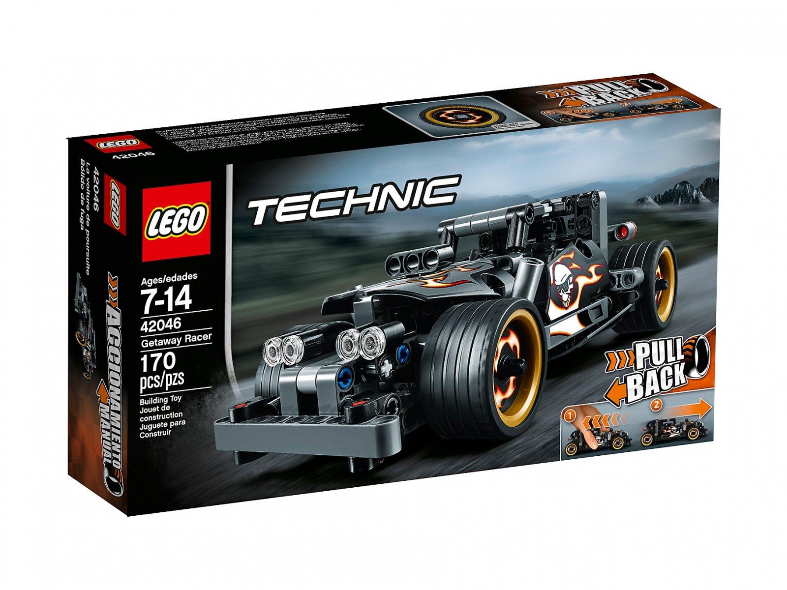 LEGO Technic Wyścigówka zbiegów