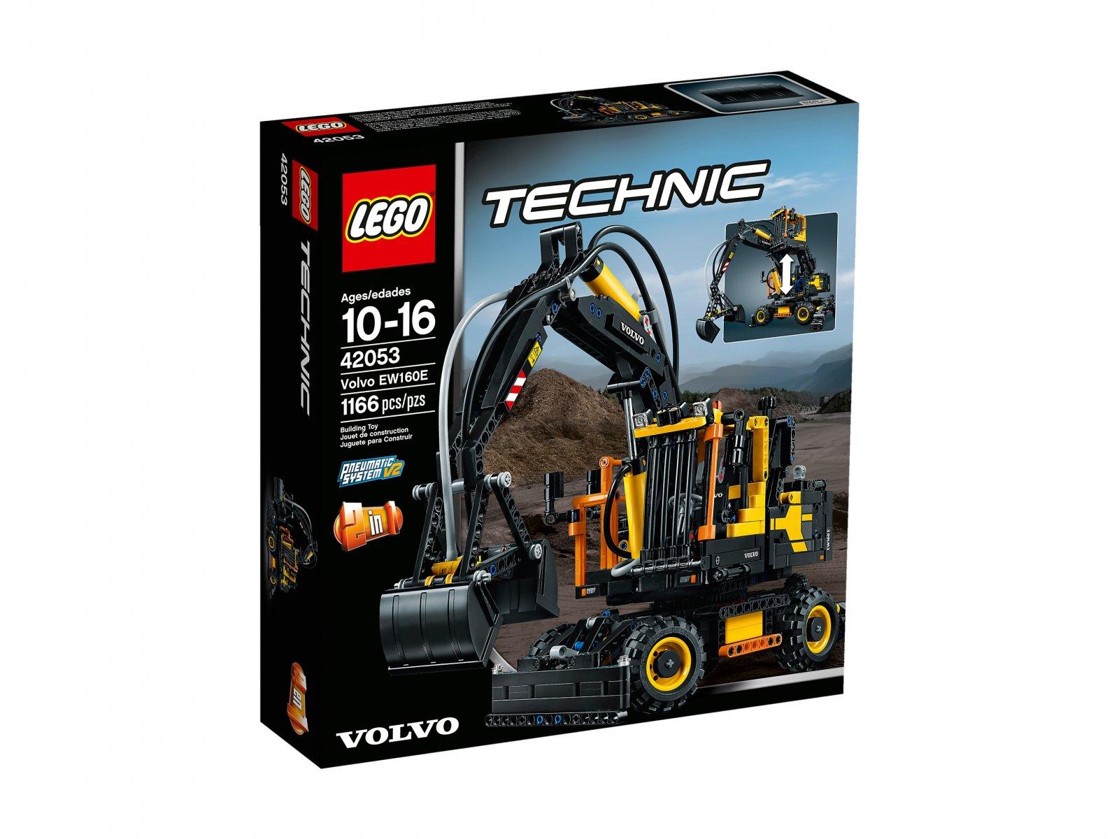 LEGO 42053 Volvo EW 160E