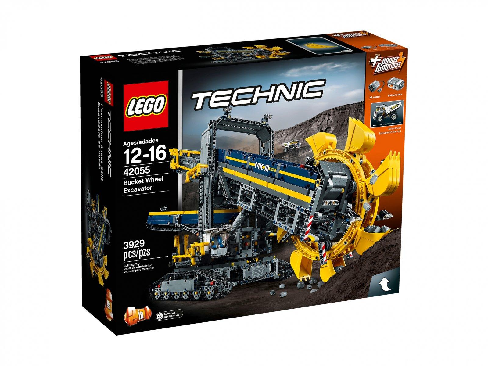 LEGO Technic Górnicza koparka kołowa 42055