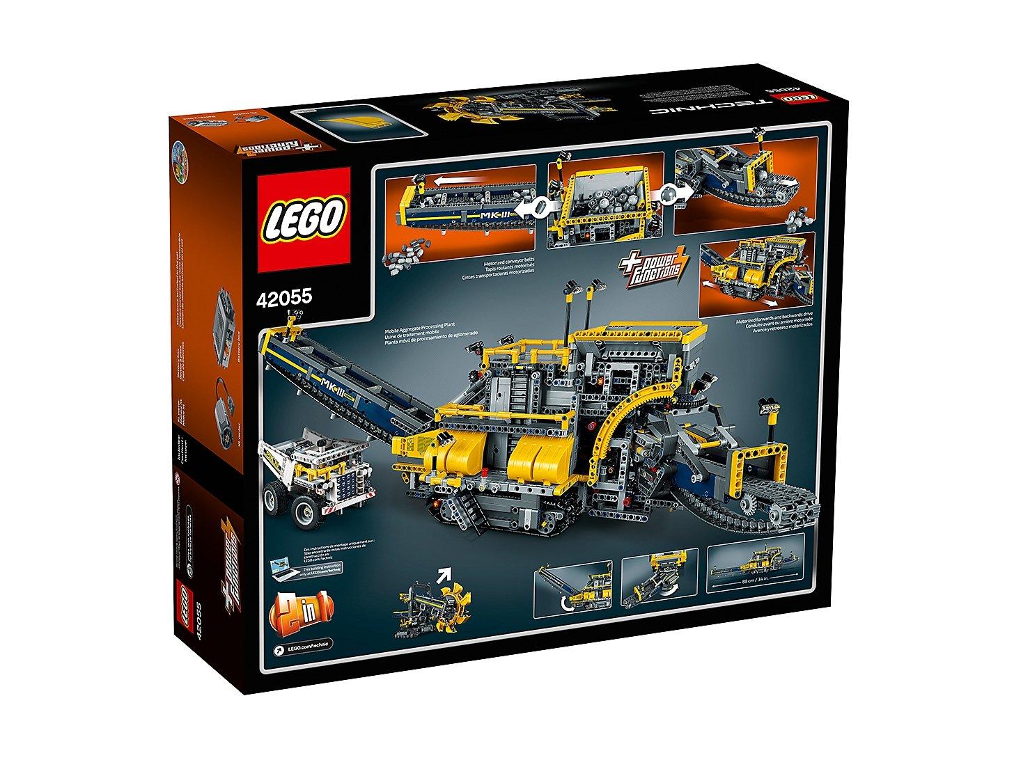 LEGO 42055 Technic Górnicza koparka kołowa