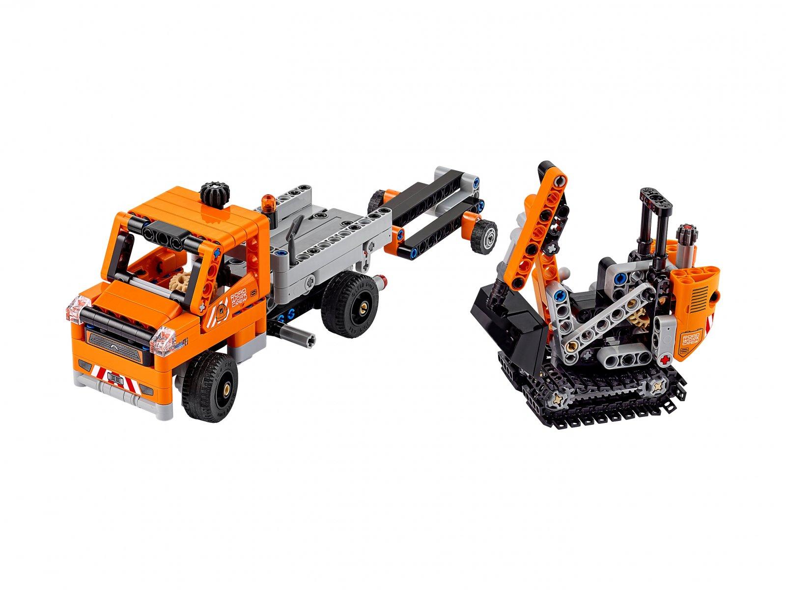 LEGO Technic Ekipa robót drogowych
