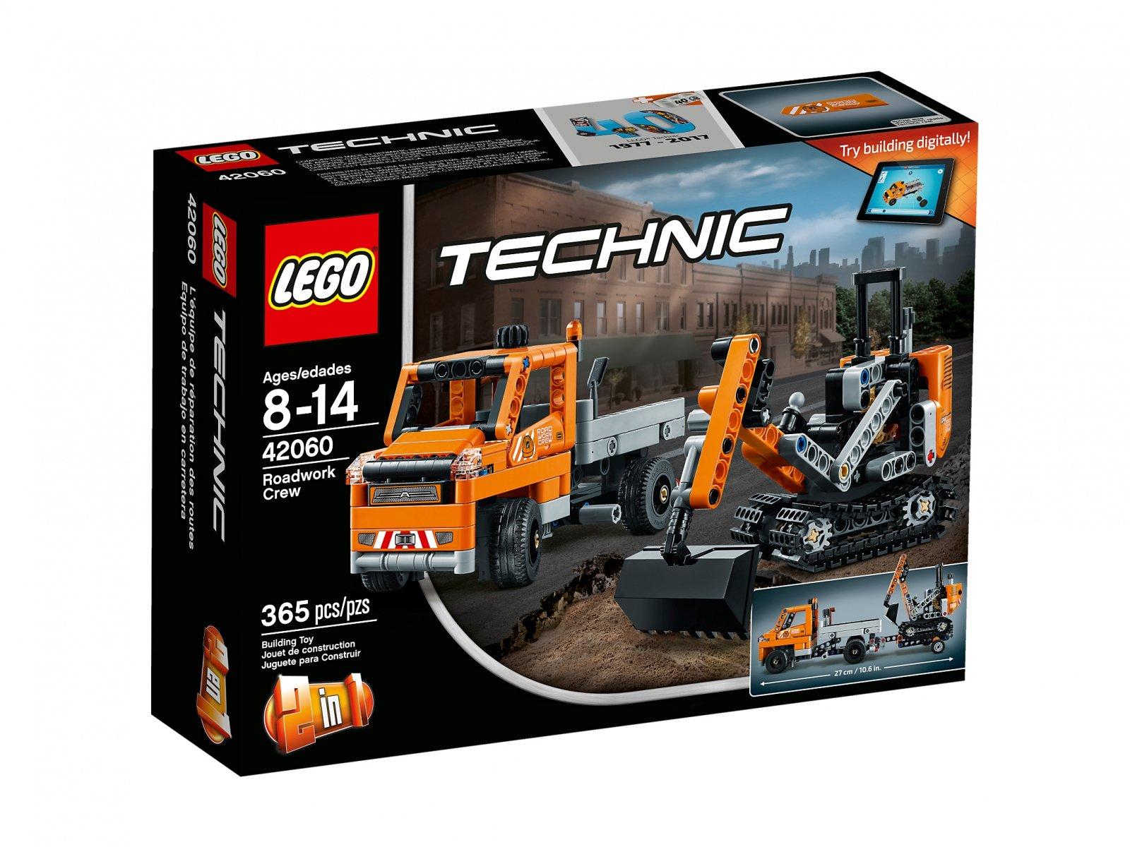 LEGO Technic Ekipa robót drogowych 42060