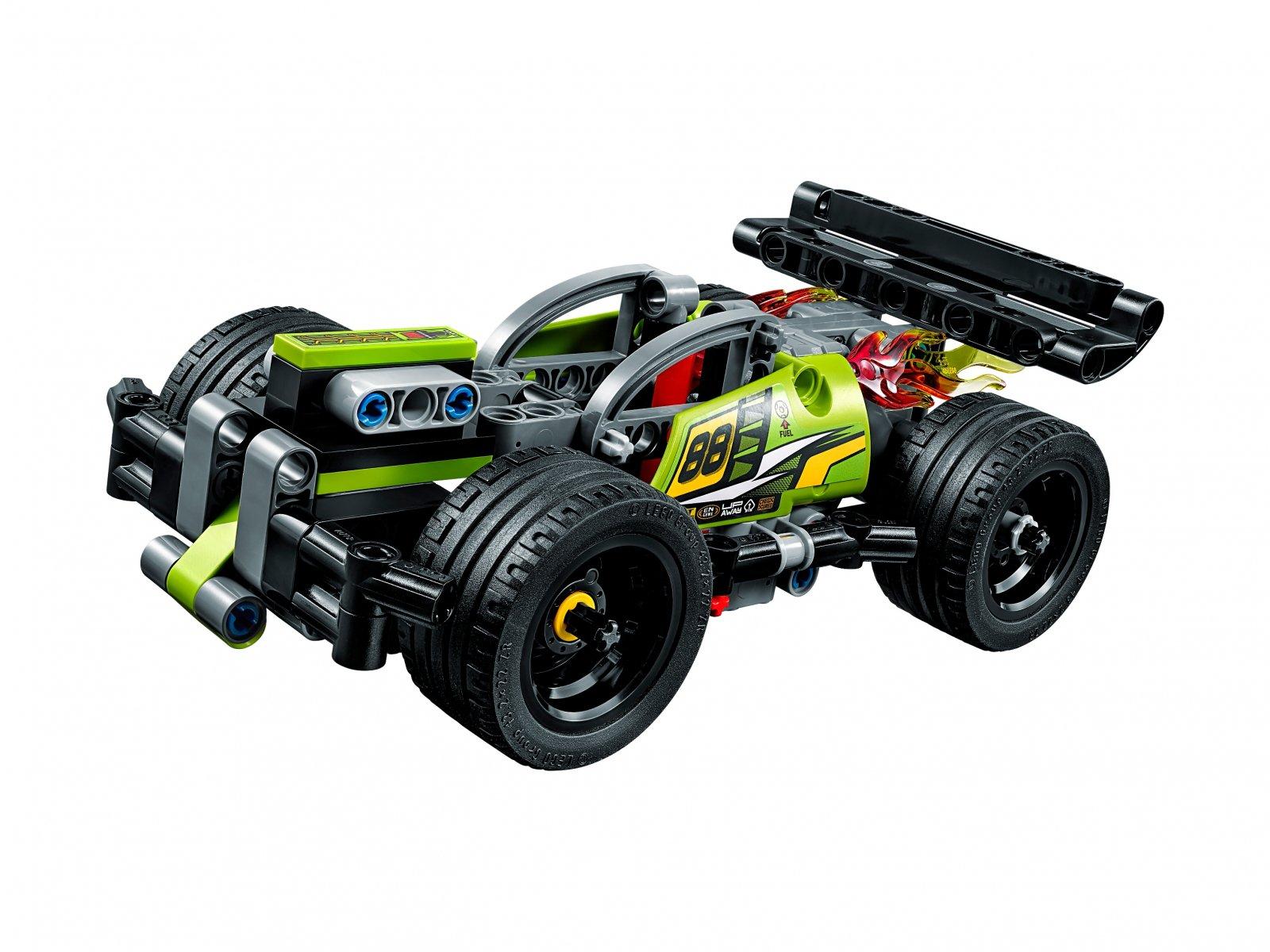 LEGO 42072 Żółta wyścigówka