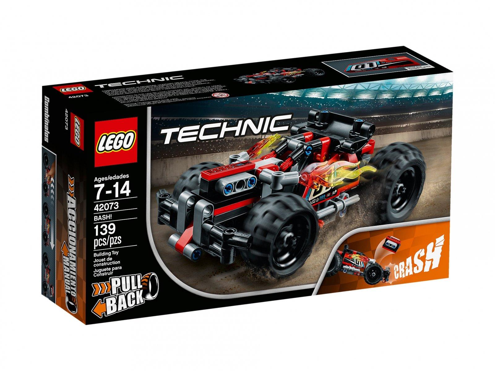 LEGO Technic 42073 Czerwona wyścigówka