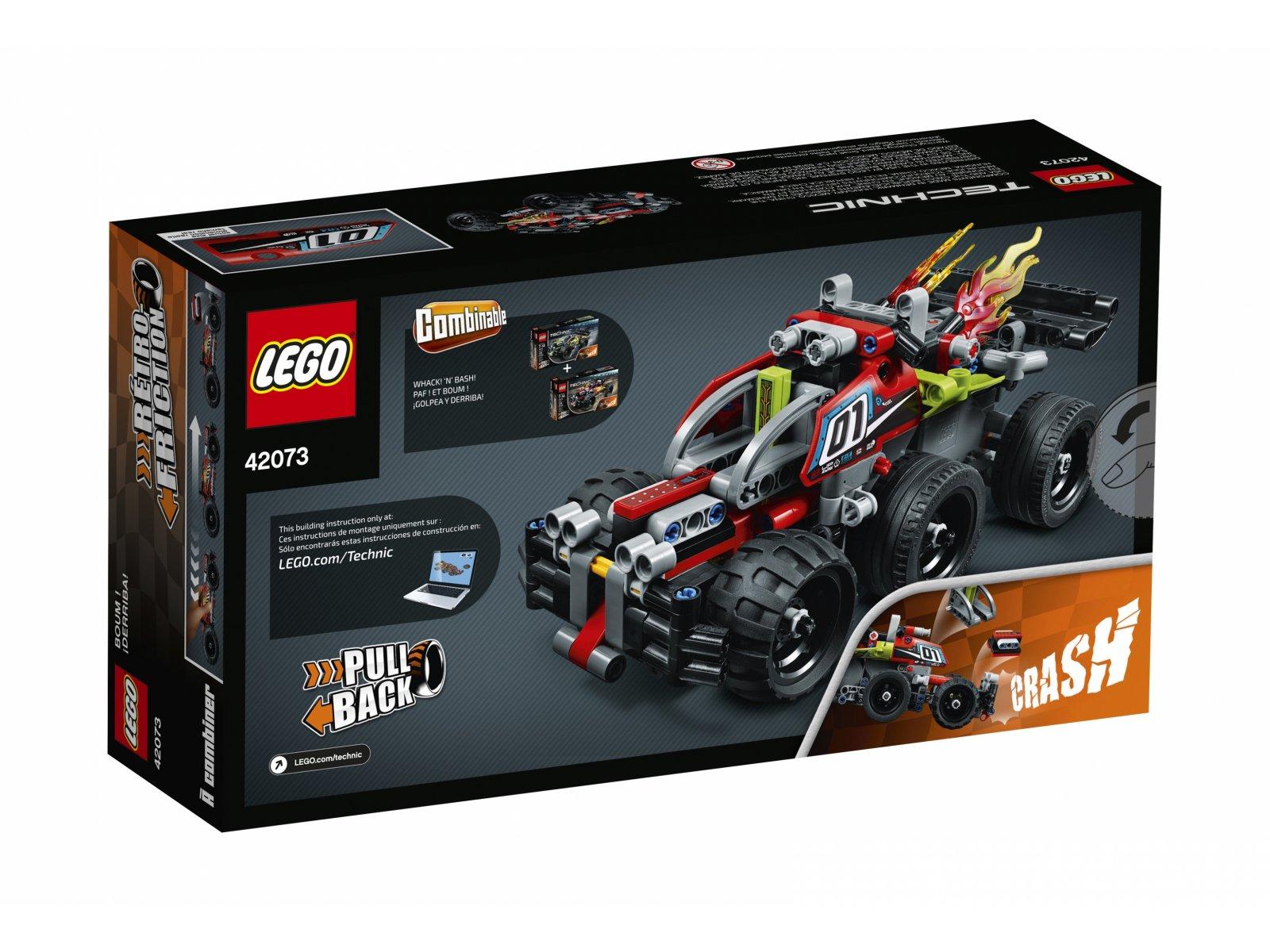 LEGO Technic Czerwona wyścigówka