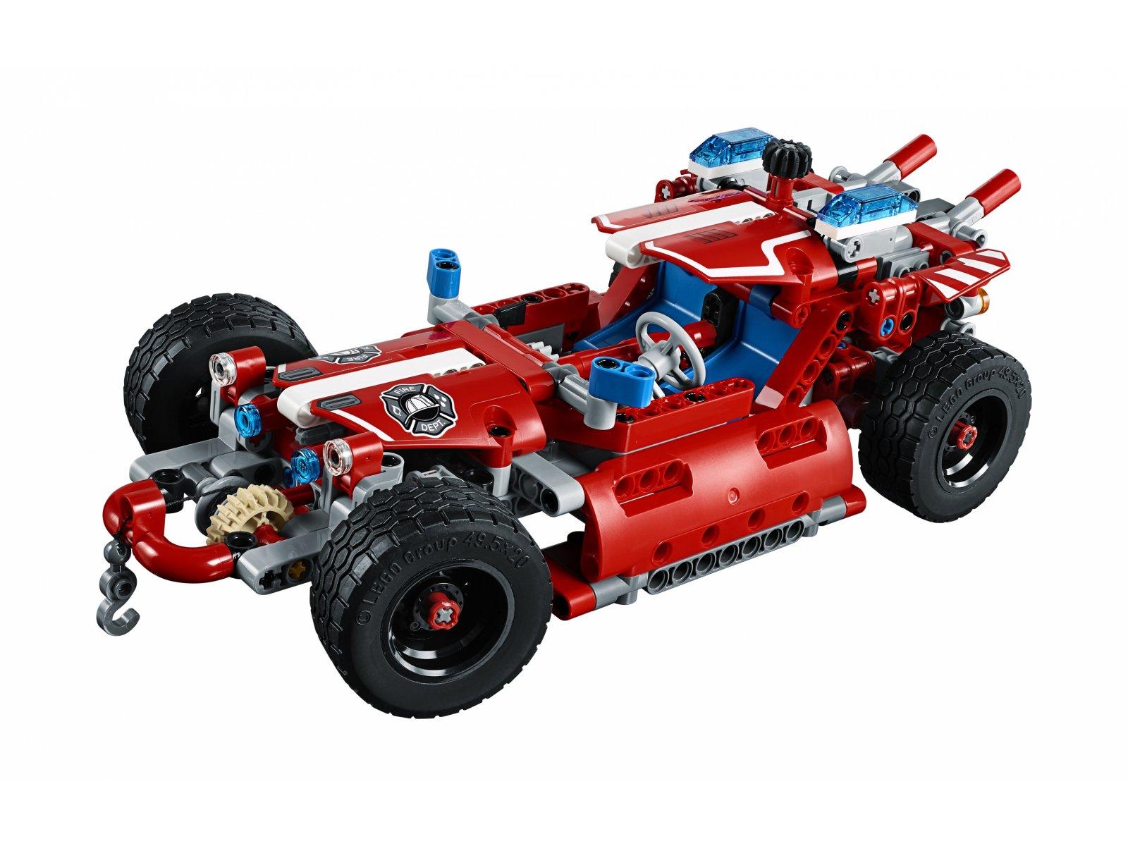 LEGO 42075 Technic Pojazd szybkiego reagowania