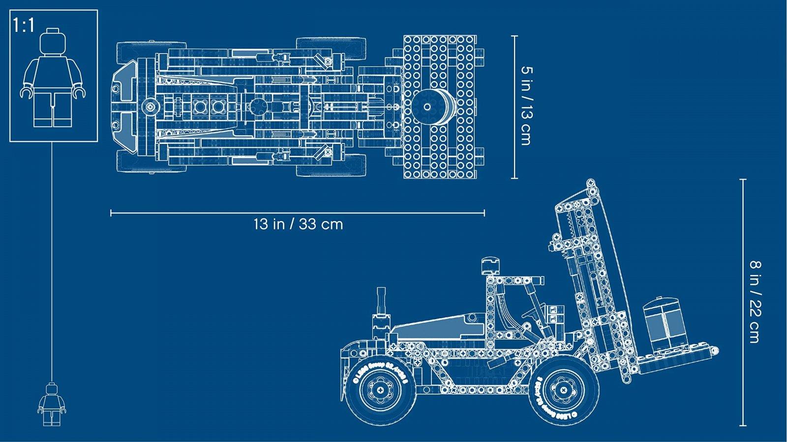 LEGO Technic Wózek widłowy 42079