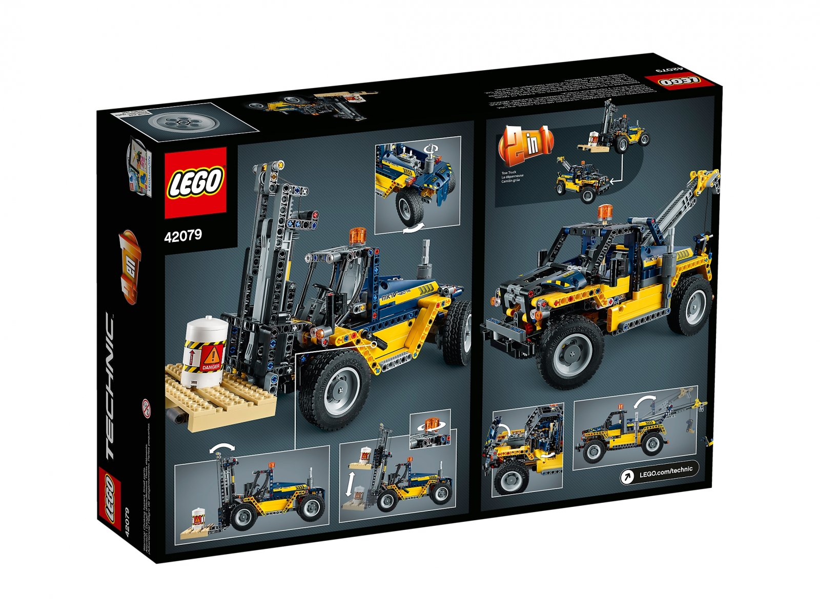 LEGO 42079 Wózek widłowy