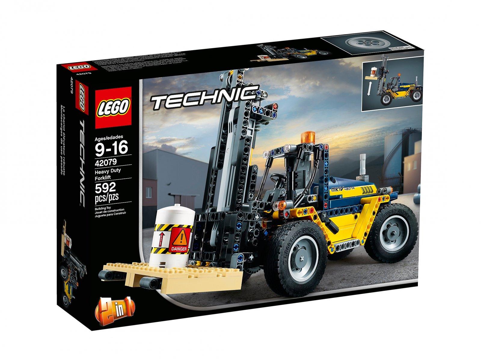 Lego 42079 Technic Wózek Widłowy Zklockówpl
