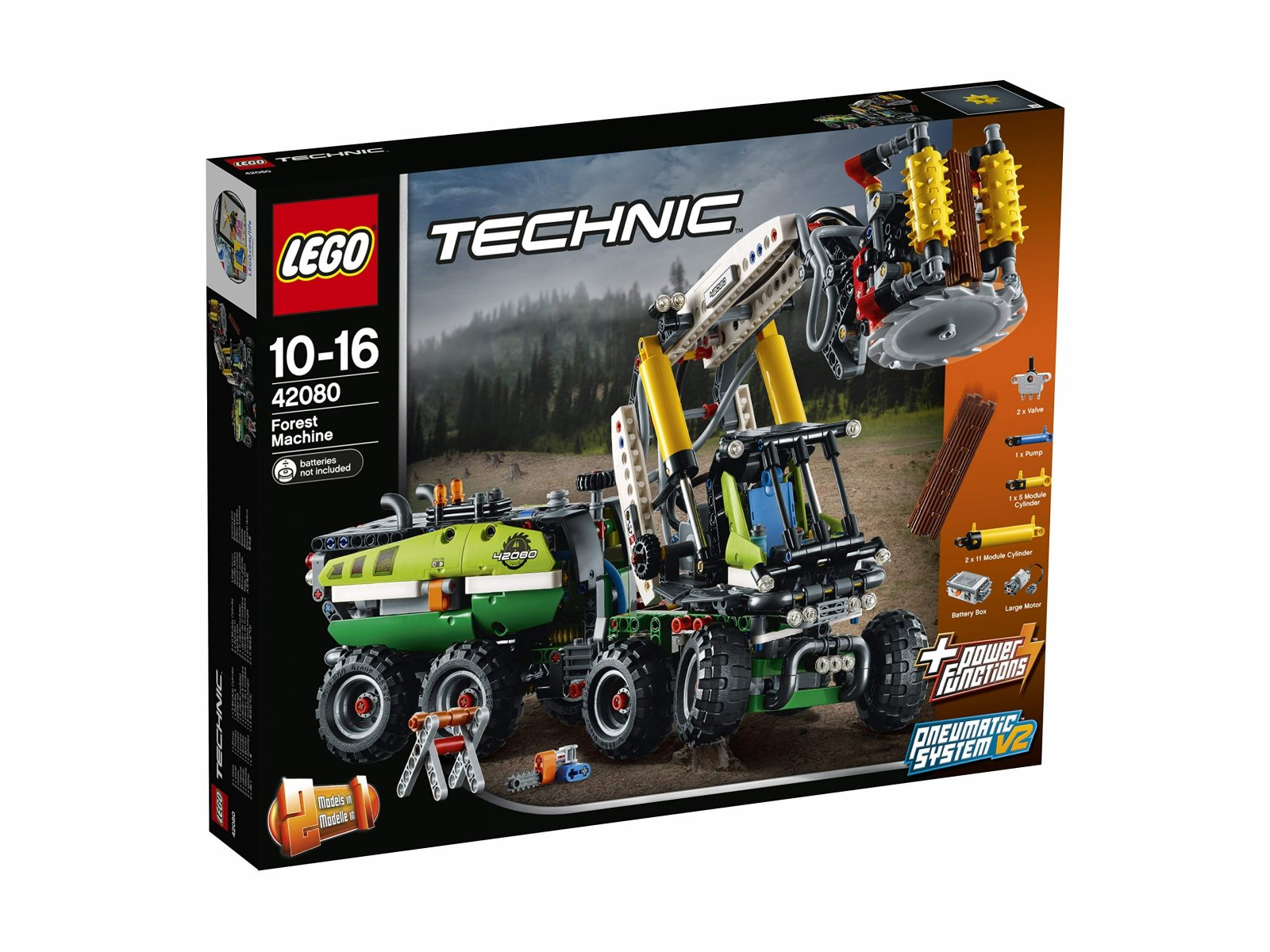 LEGO 42080 Technic Maszyna leśna