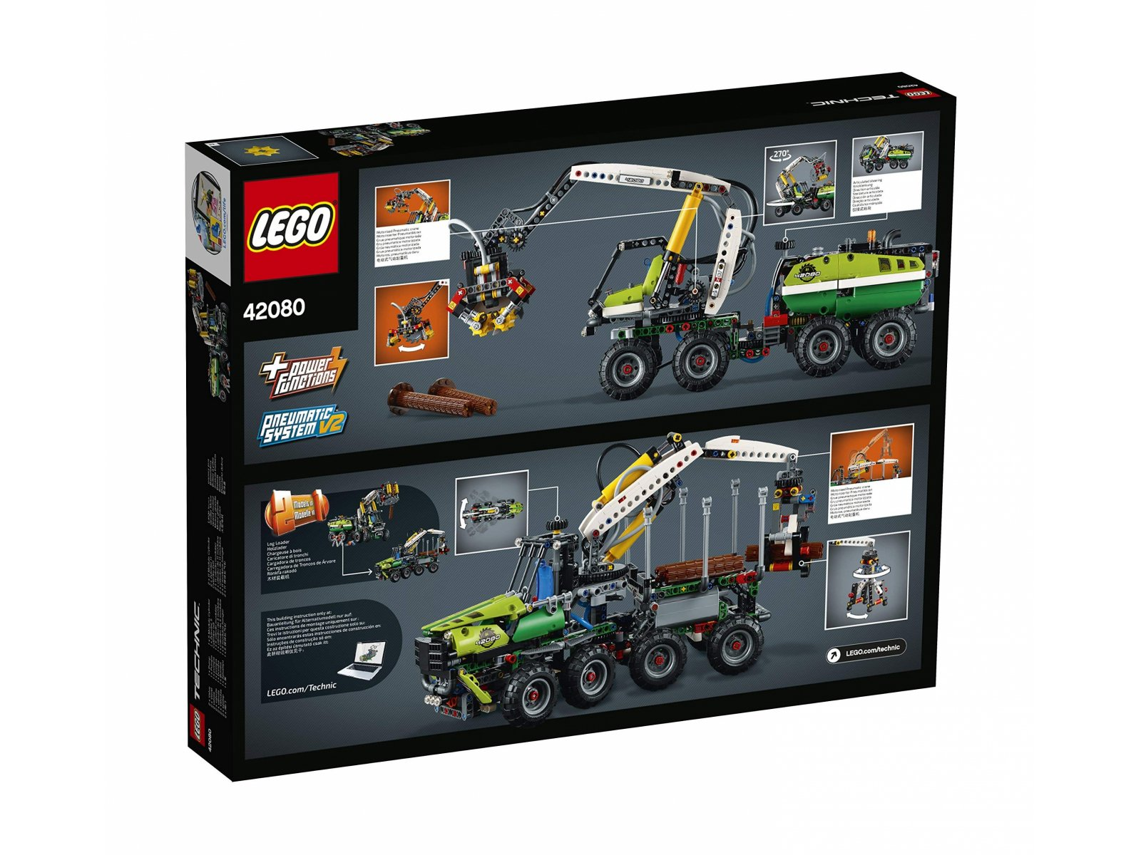 LEGO Technic Maszyna leśna 42080