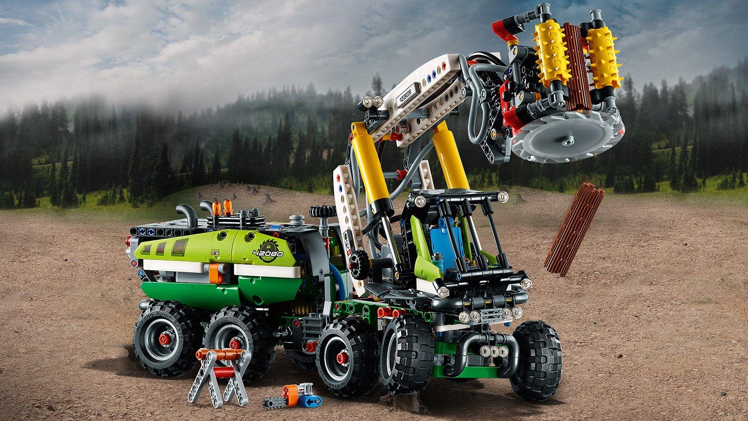 LEGO 42080 Maszyna leśna