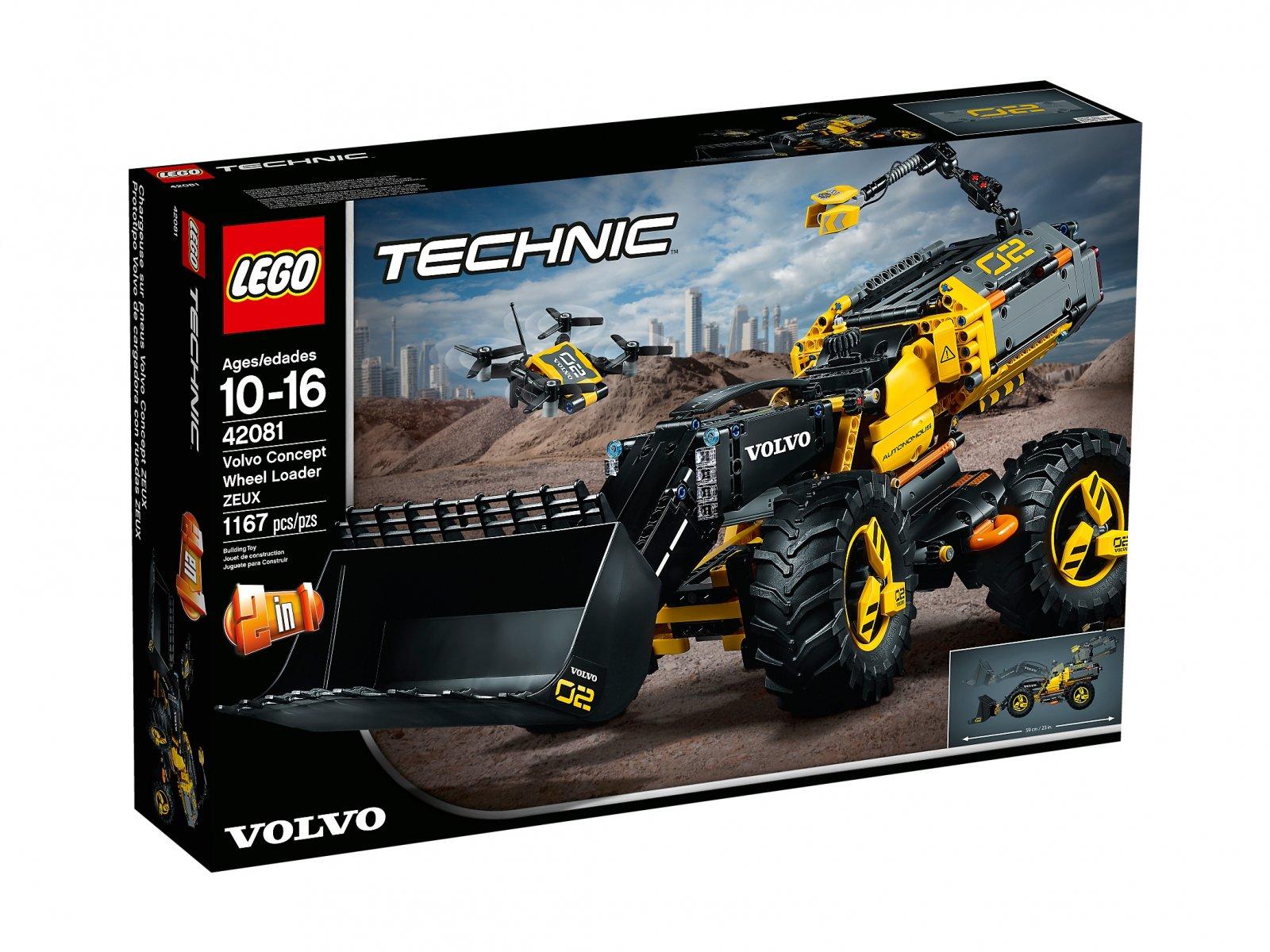 LEGO 42081 Volvo ładowarka kołowa ZEUX