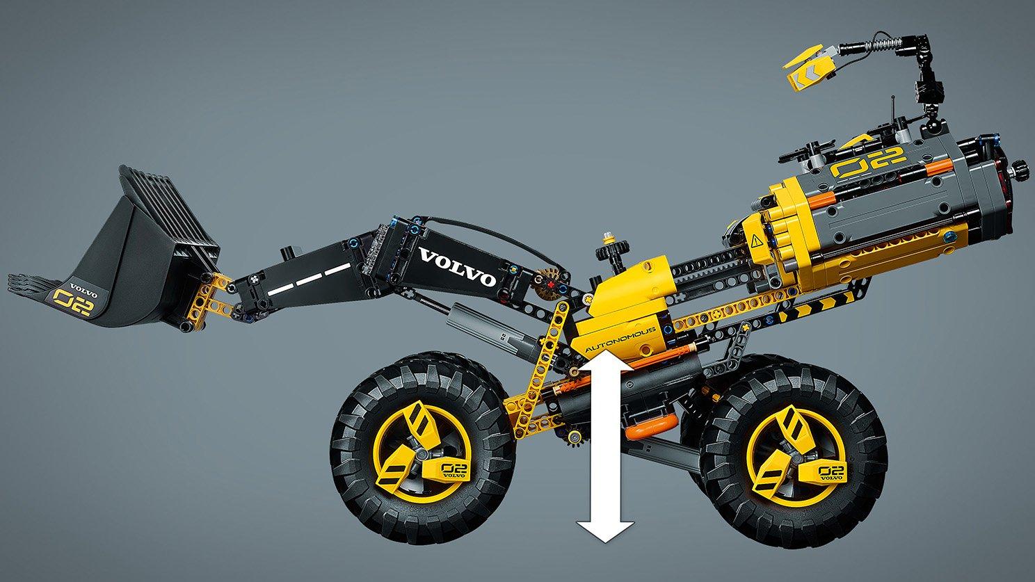 LEGO 42081 Technic Volvo ładowarka kołowa ZEUX