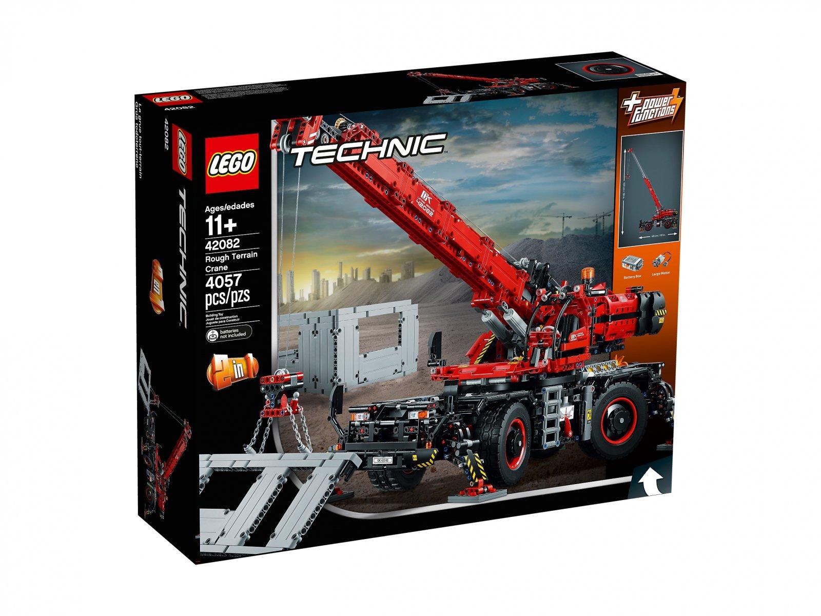 LEGO 42082 - LEGO Technic 42082 Dźwig - zdjęcie 2
