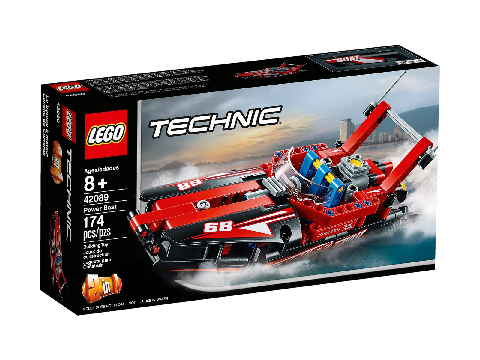 LEGO 42089 Technic Motorówka