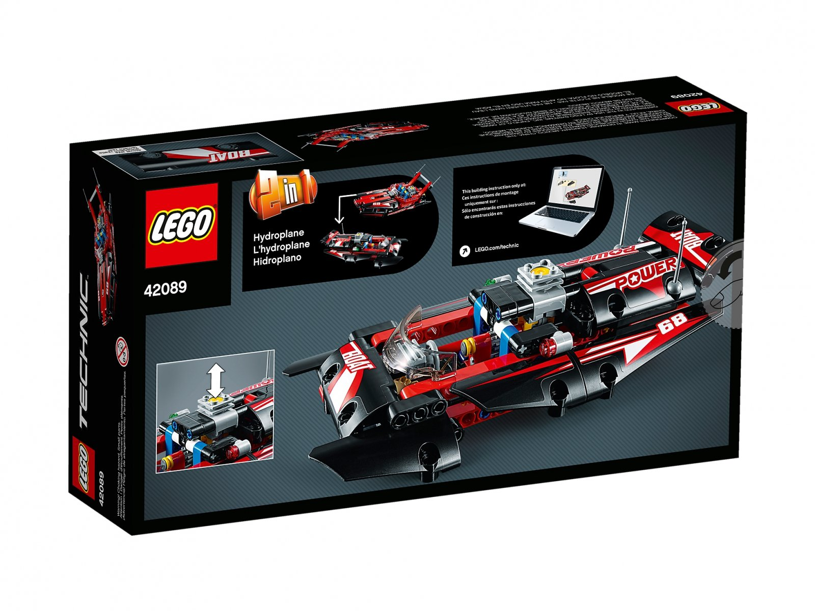 LEGO Technic Motorówka