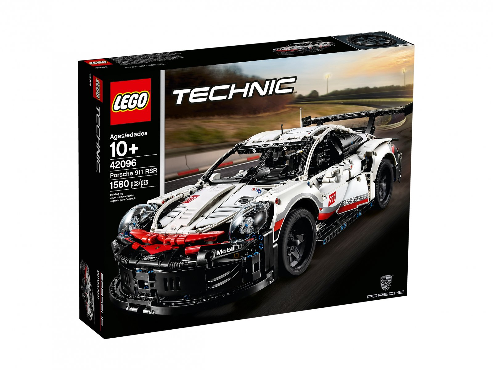 42096 lego technic porsche 911 rsr. Black Bedroom Furniture Sets. Home Design Ideas