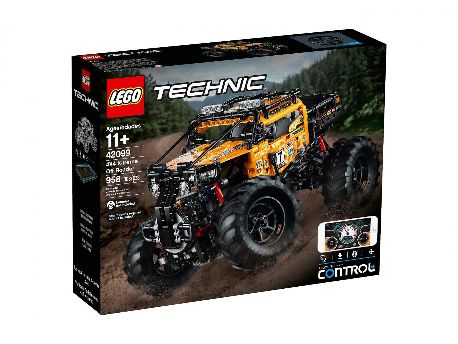 LEGO 42099 Technic Zdalnie sterowany pojazd terenowy