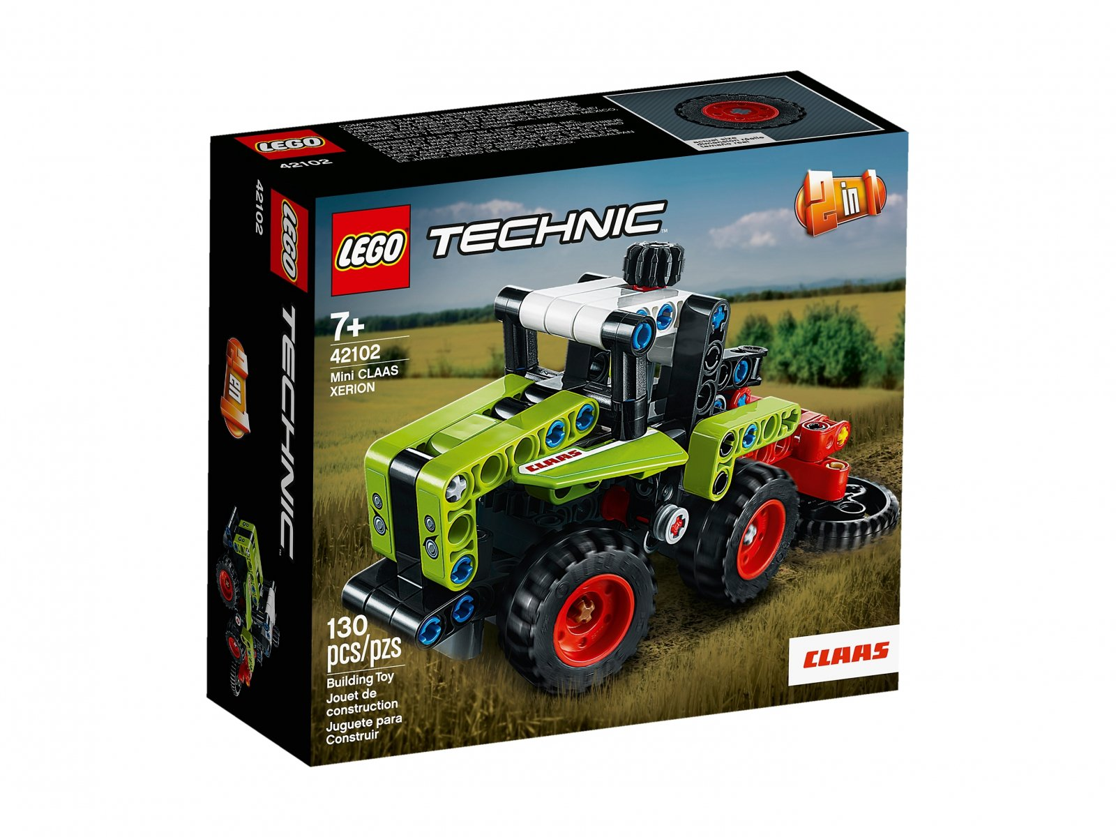 LEGO 42102 Technic Mini CLAAS XERION
