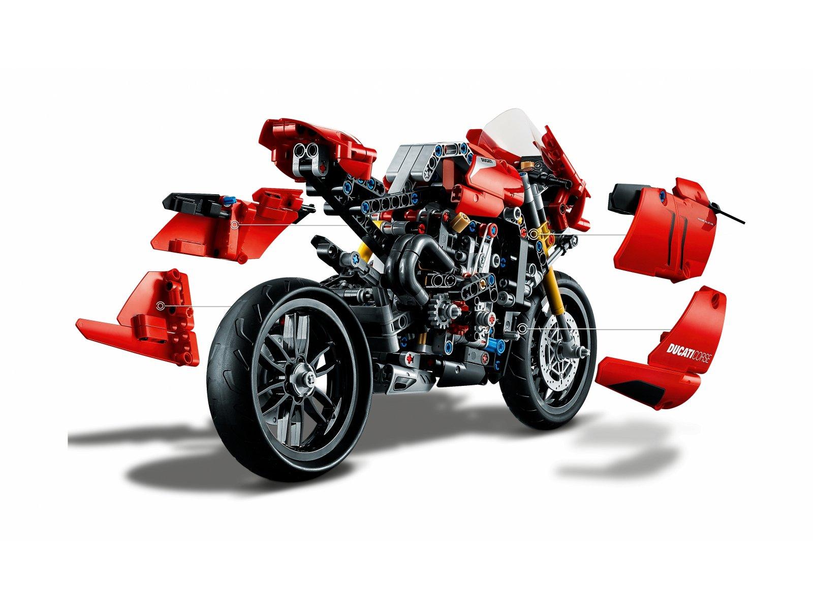 LEGO 42107 Technic Ducati Panigale V4 R