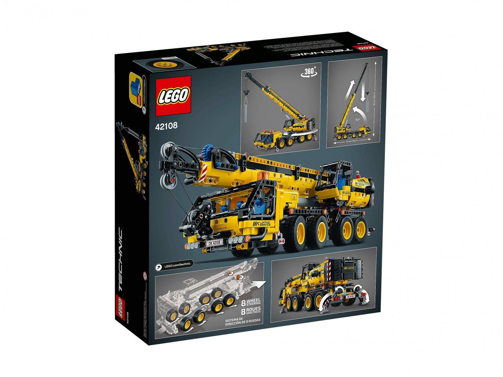 LEGO 42108 Żuraw samochodowy