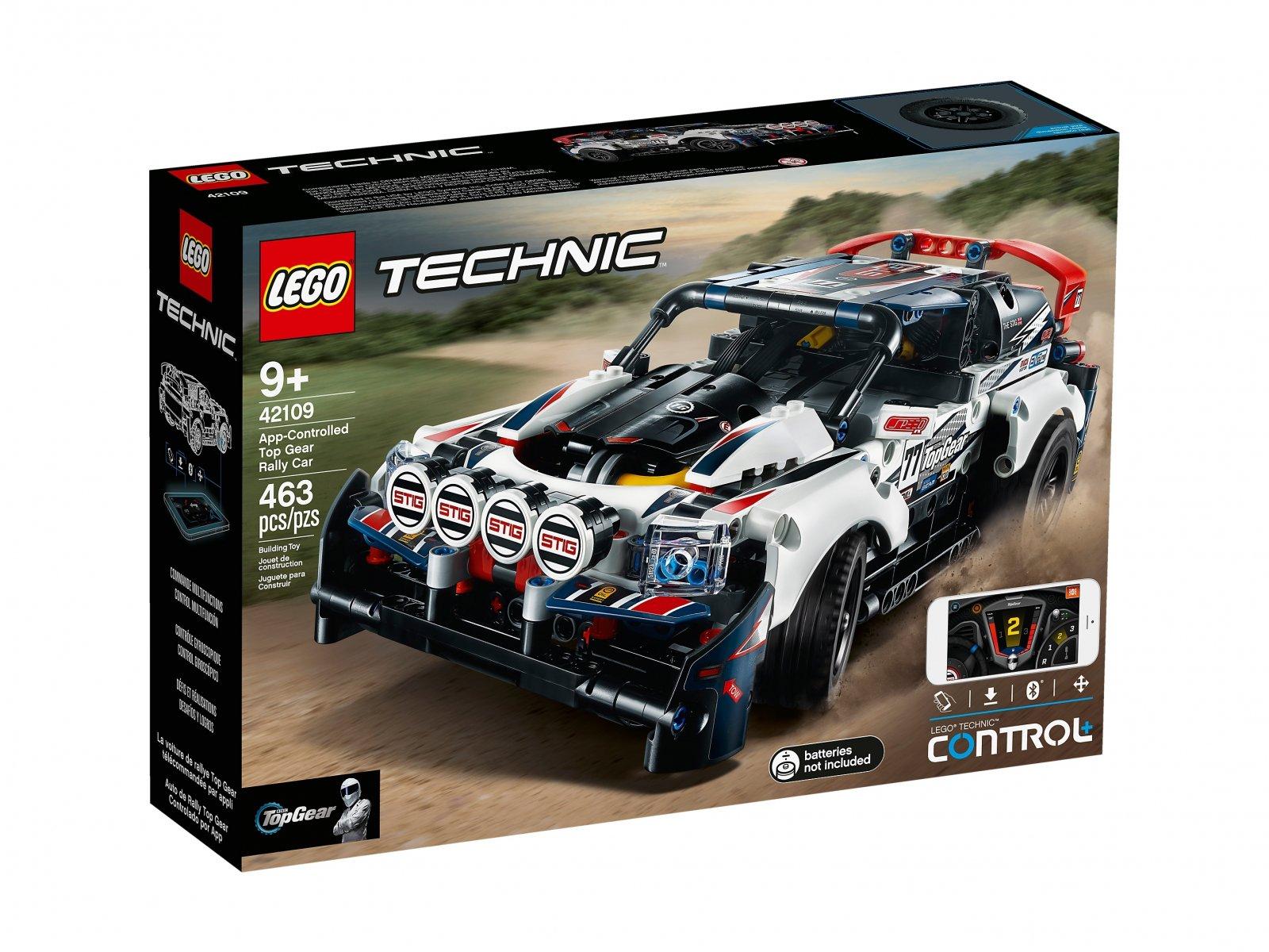 LEGO 42109 Technic Auto wyścigowe Top Gear sterowane przez aplikację