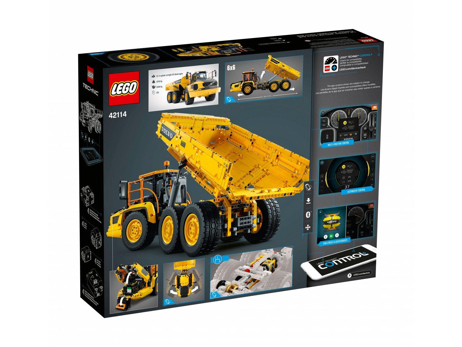 LEGO 42114 Technic Wozidło przegubowe Volvo 6x6