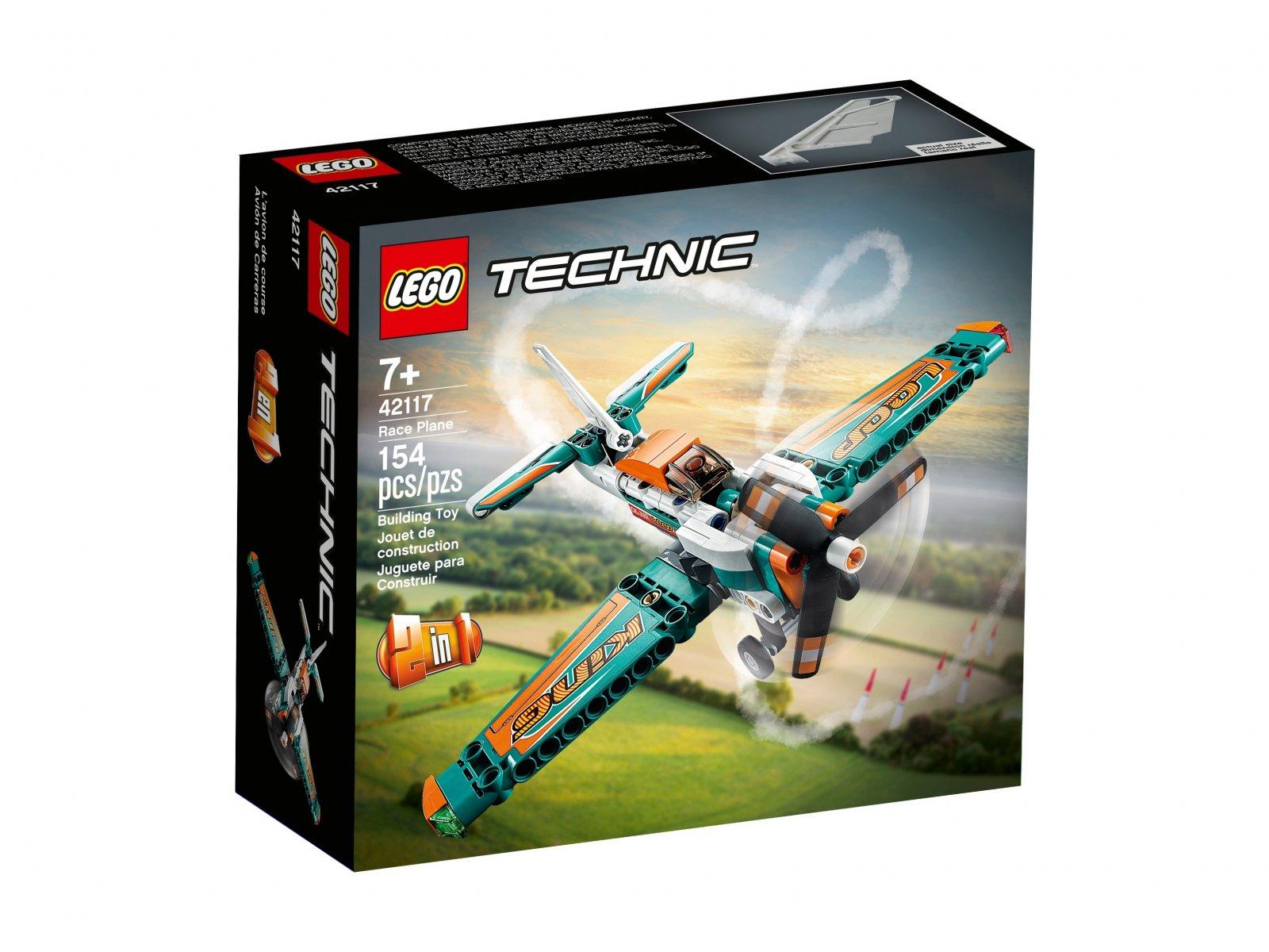 LEGO 42117 Samolot wyścigowy