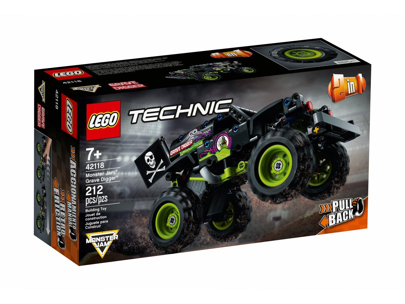 LEGO Technic Monster Jam®  Grave Digger® 42118