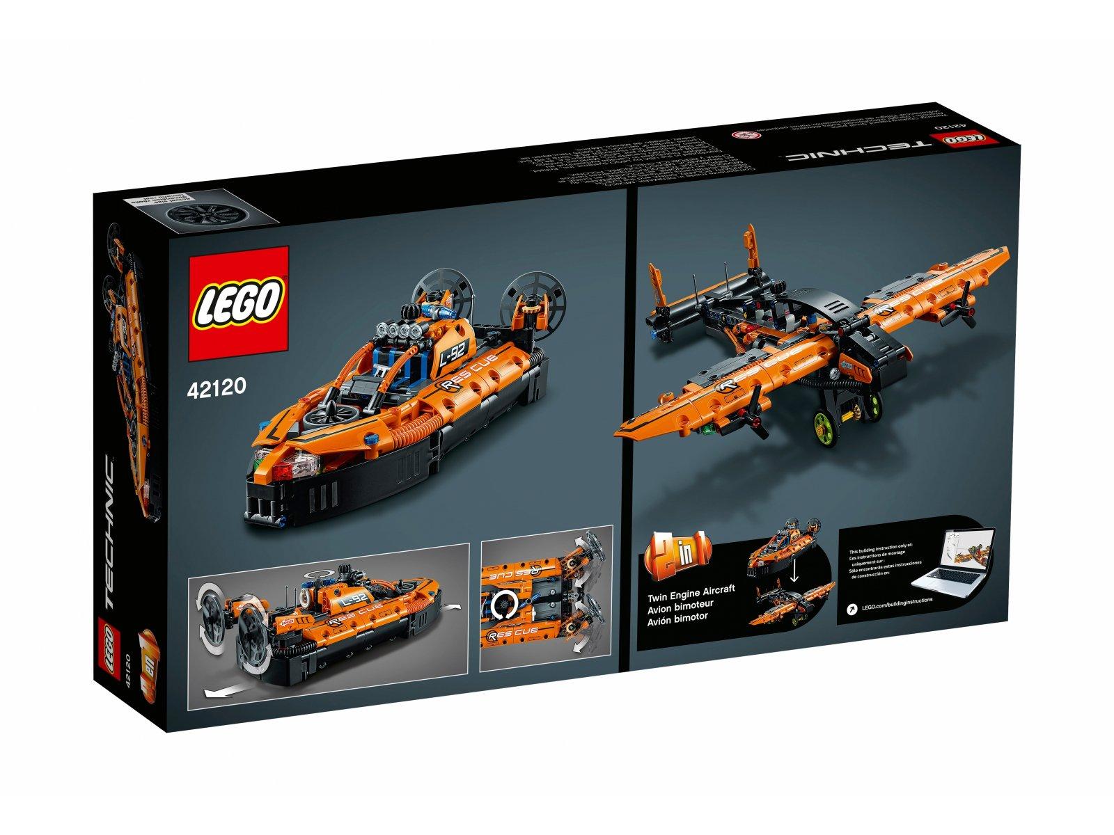 LEGO 42120 Technic Poduszkowiec ratowniczy