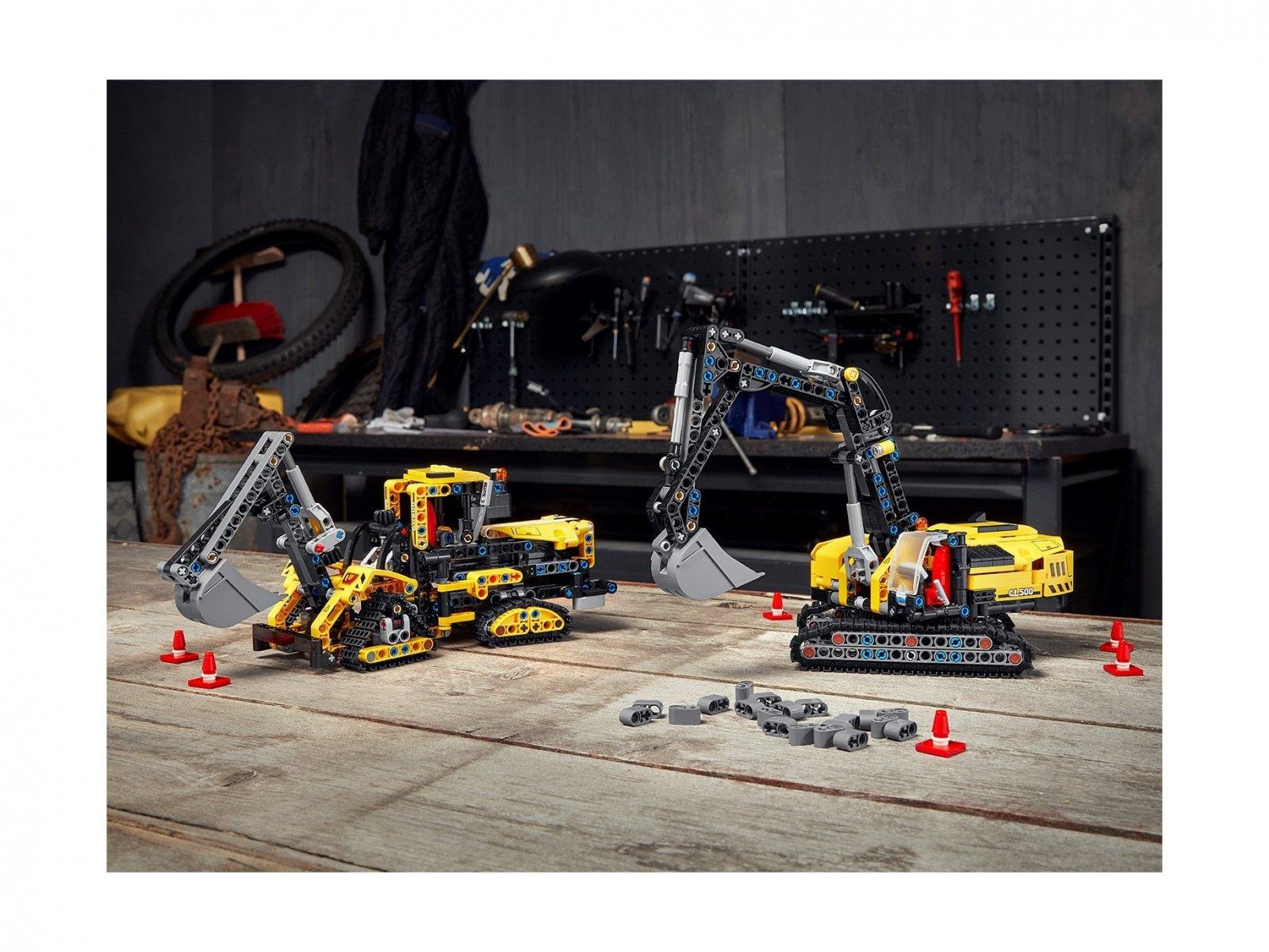 LEGO 42121 Technic Wytrzymała koparka