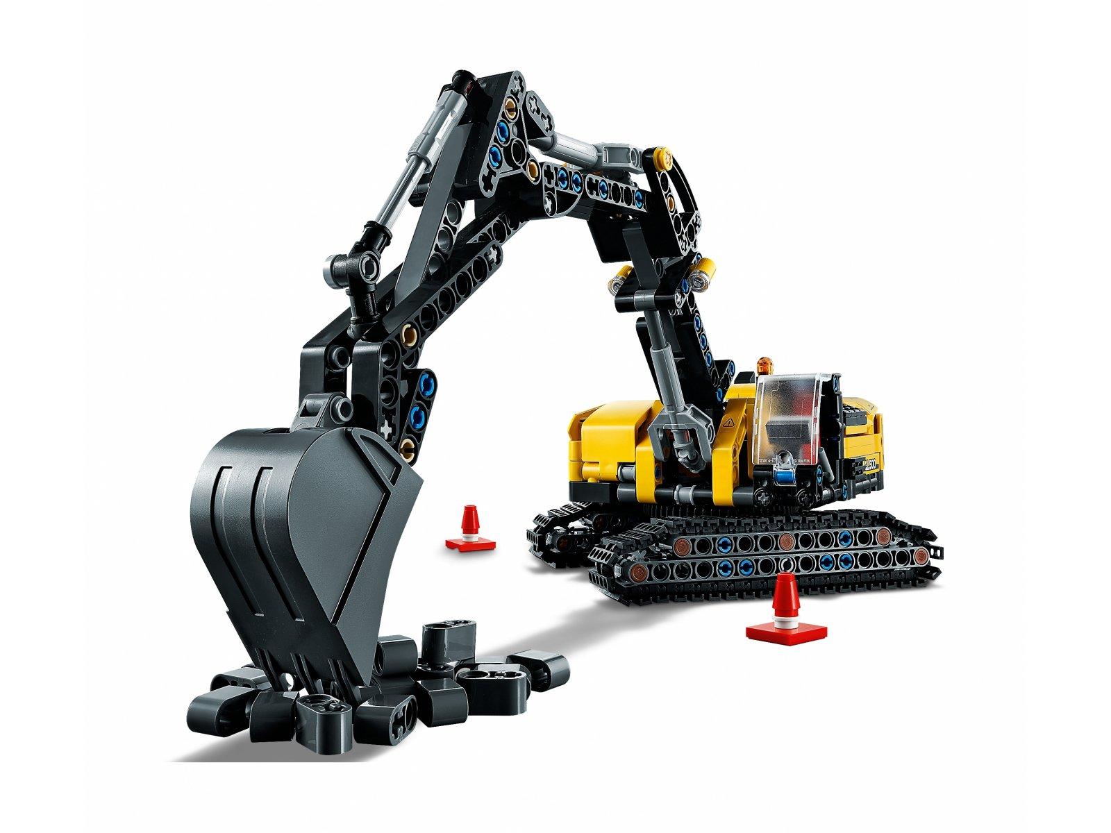 LEGO 42121 Wytrzymała koparka