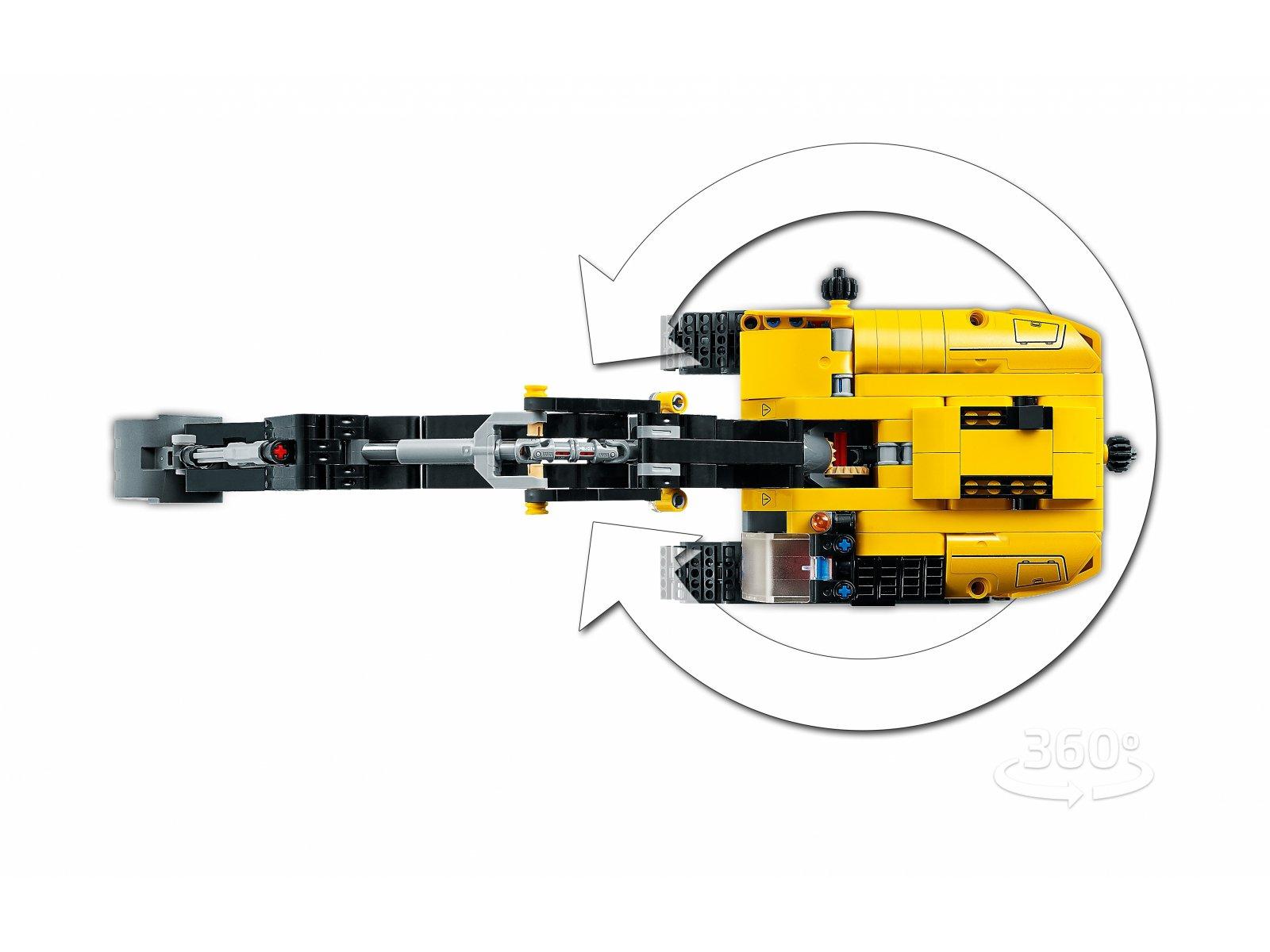 LEGO Technic 42121 Wytrzymała koparka