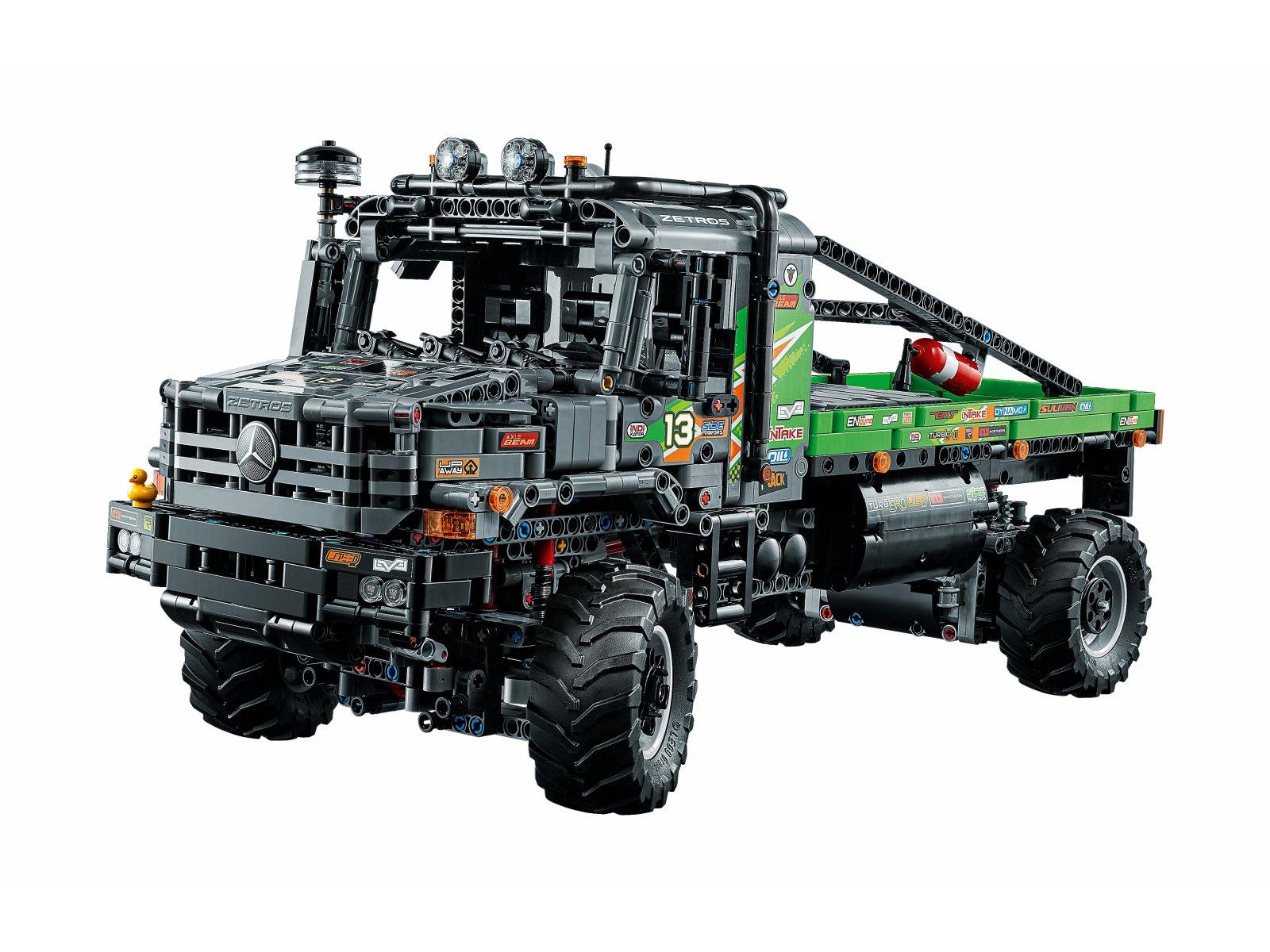 LEGO Technic Ciężarówka Mercedes-Benz Zetros z napędem na 4 koła 42129