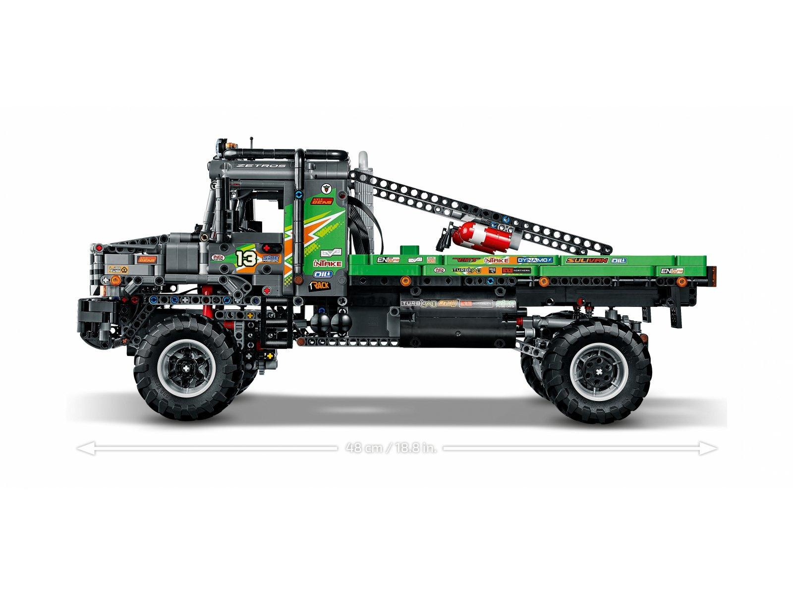 LEGO 42129 Technic Ciężarówka Mercedes-Benz Zetros z napędem na 4 koła