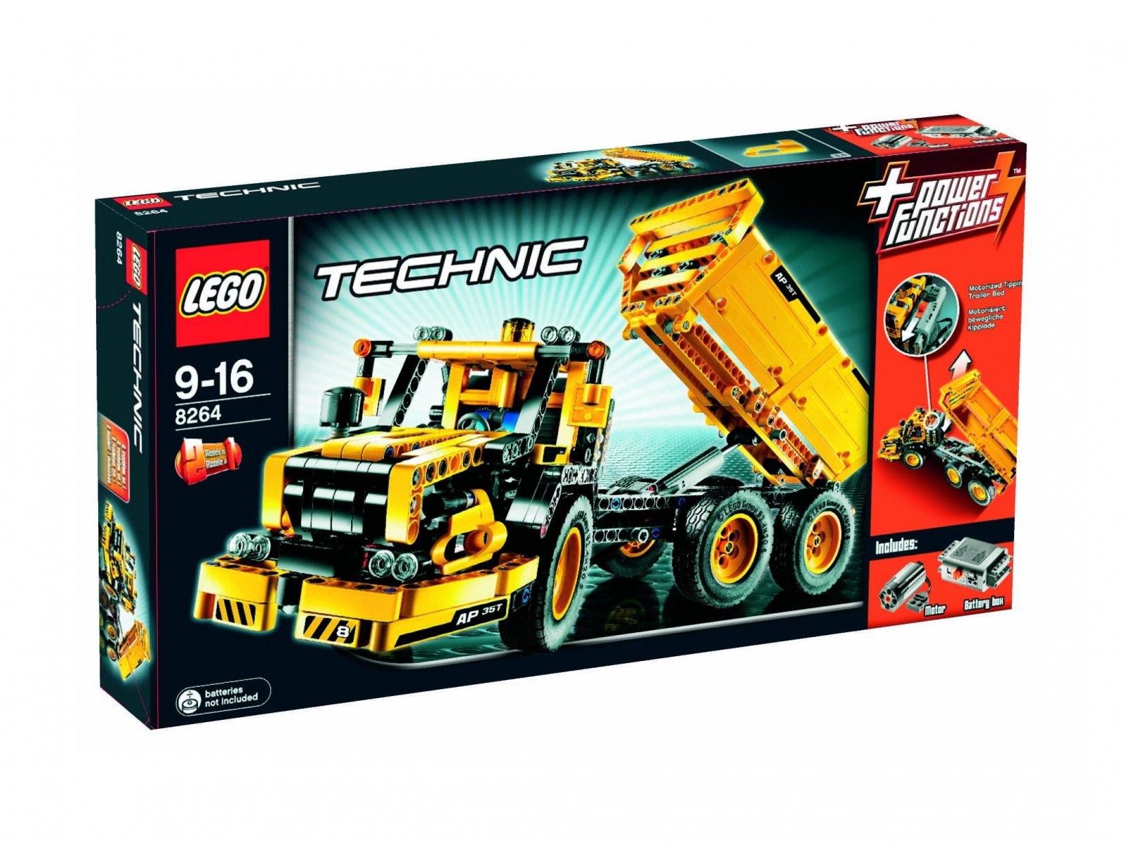 LEGO 8264 Ciężarówka z naczepą