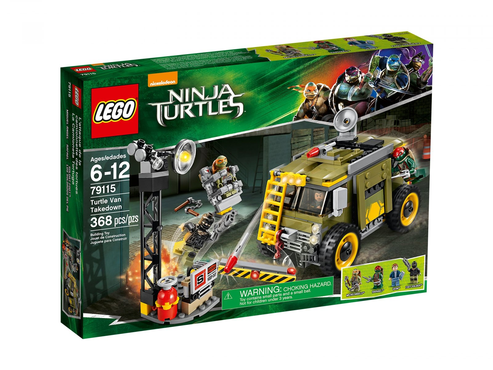 LEGO Teenage Mutant Ninja Turtles™ Furgonetka żółwi 79115