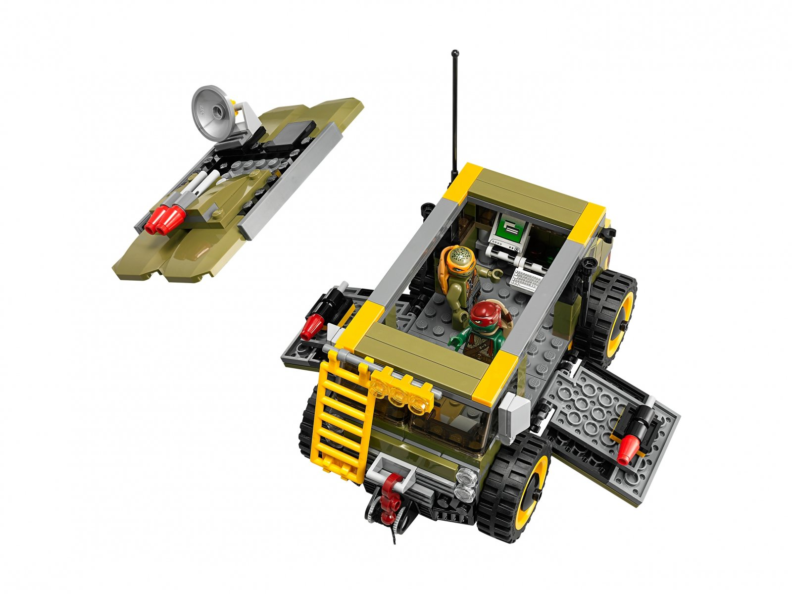 LEGO Teenage Mutant Ninja Turtles™ 79115 Furgonetka żółwi