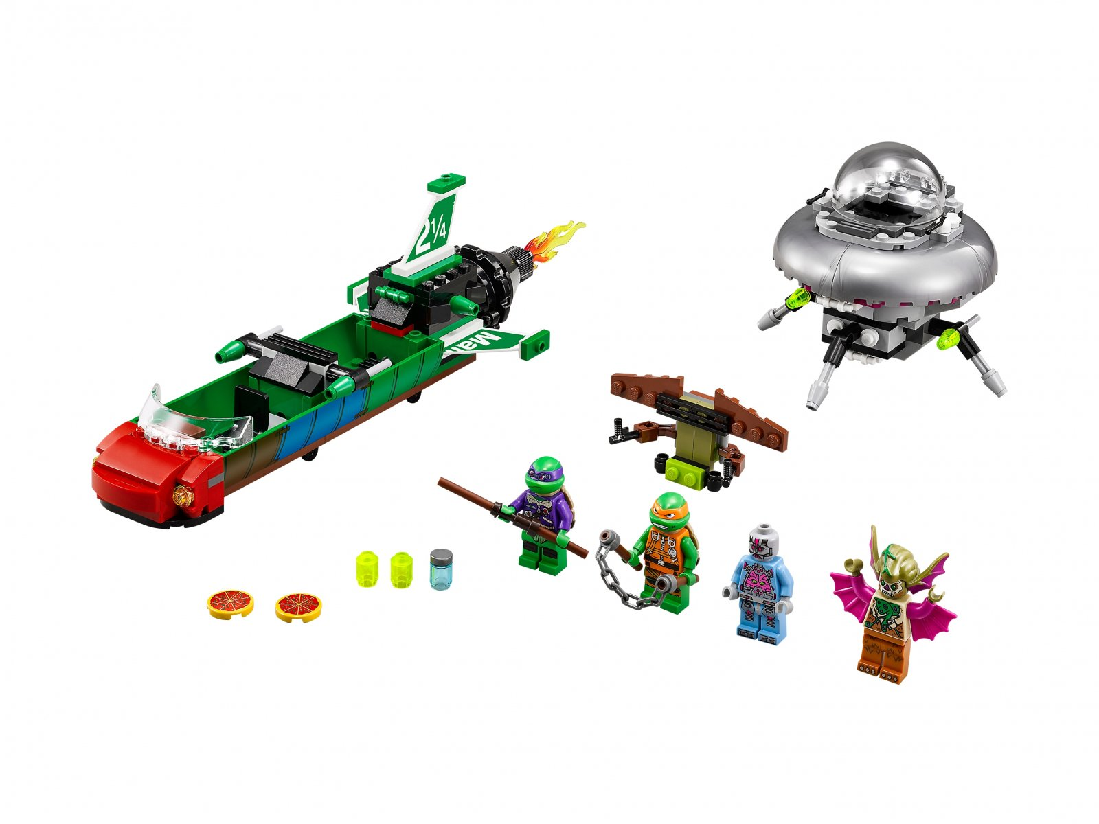LEGO Teenage Mutant Ninja Turtles™ Podniebne uderzenie 79120